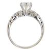 1.32 ct. Pear Cut Bridal Set Ring, D, SI1 #4