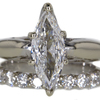 1.50 ct. Marquise Cut Bridal Set Ring #3