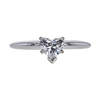 0.91 ct. Heart Cut Solitaire Ring, G, SI2 #3