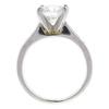 1.57 ct. Round Cut Bridal Set Ring, G, SI1 #4