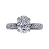 2.01 ct. Oval Cut Solitaire Ring, E, VS2 #3