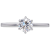 0.72 ct. Round Cut Solitaire Ring, G, VS2 #3
