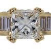 1.51 ct. Princess Cut Bridal Set Ring #4