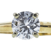 0.74 ct. Round Cut Solitaire Ring, F, SI1 #4