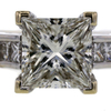 2.01 ct. Princess Cut Solitaire Ring #2
