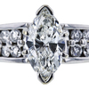 1.51 ct. Marquise Cut Solitaire Ring, G, SI2 #4