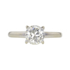 1.03 ct. Old European Cut Solitaire Ring, M, VS1 #3