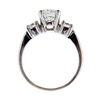 1.01 ct. Round Cut Bridal Set Ring #2