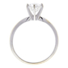 1.07 ct. Round Cut Solitaire Ring, F, SI2 #4