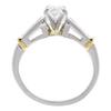 0.77 ct. Oval Cut Bridal Set Ring, E, VS2 #4