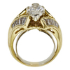 2.01 ct. Marquise Cut Solitaire Ring, J, I1 #4