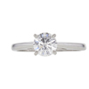 0.8 ct. Round Cut Solitaire Ring, E, SI2 #3