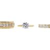 1.22 ct. Round Cut Bridal Set Ring, I, I2 #3