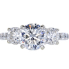 1.50 ct. Round Cut 3 Stone Ring, G, SI1 #1