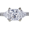 1.57 ct. Radiant Cut 3 Stone Ring #3