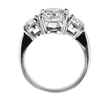 2.14 ct. Round Cut Bridal Set Ring #2