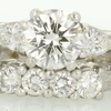 1.57 ct. Round Cut Bridal Set Ring #4