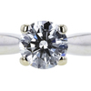 1.05 ct. Round Cut Solitaire Ring, G, SI1 #4