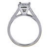 0.92 ct. Princess Cut Solitaire Ring, I, SI1 #1