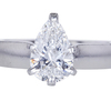 1.24 ct. Pear Cut Solitaire Ring #3