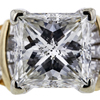 3.51 ct. Princess Cut Solitaire Ring #4