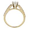 0.71 ct. Pear Cut Bridal Set Ring, H, VS2 #3