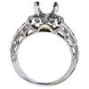 1.06 ct. Princess Cut Bridal Set Ring, F, SI1 #4