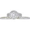 3.31 ct. Round Modified Cut Bridal Set Ring, I, I1 #2