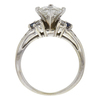 1.02 ct. Princess Cut Solitaire Ring, I, SI1 #4