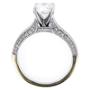 1.26 ct. Round Cut Bridal Set Ring, F, VS2 #2