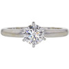 0.78 ct. Round Cut Solitaire Ring, H, VS2 #3
