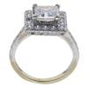 1.51 ct. Princess Cut Halo Ring, H, VS2 #4
