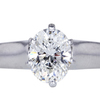 2.28 ct. Oval Cut Solitaire Ring #3