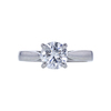 1.10 ct. Round Cut Solitaire Ring, F-G, I1-I2 #2