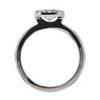 .90 ct. Emerald Cut Bridal Set Ring #3