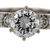 1.06 ct. Round Cut Solitaire Ring #3