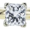 1.08 ct. Princess Cut Bridal Set Ring, I, VVS2 #4