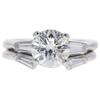 1.7 ct. Round Cut Bridal Set Ring, I, SI1 #2