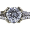 1.05 ct. Round Cut Solitaire Ring, H, SI1 #4