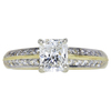 1.03 ct. Radiant Cut Solitaire Ring, H, VS1 #3