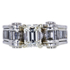 1.06 ct. Emerald Cut Solitaire Ring, G, VVS1 #3