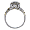 1.36 ct. Round Cut Bridal Set Ring, G-H, VVS2-VS1 #3