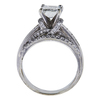1.31 ct. Emerald Cut Bridal Set Ring, I, VS1 #1