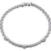 Round Cut Bangle Bracelet, I-J, SI2-I1 #3