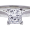 1.0 ct. Princess Cut Bridal Set Ring, F, SI2 #4