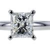 1.01 ct. Princess Cut Solitaire Ring, I, SI1 #2
