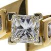 1.07 ct. Princess Cut Bridal Set Ring, H, VS2 #4