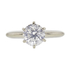 1.51 ct. Round Cut Solitaire Ring, E, SI1 #3