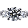 1.06 ct. Round Cut Solitaire Ring, G, SI2 #4