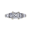 1.04 ct. Princess Cut Solitaire Ring, G, VS1 #4